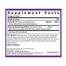 New Chapter Fermented Vitamin B 12 (30 Tablets)-facts|727783102065