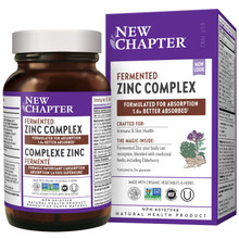 New Chapter Fermented Zinc Complex (60 Tablets)|727783102188