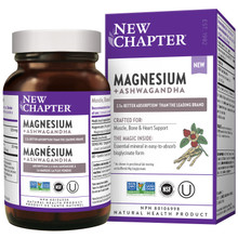 New Chapter Magnesium + Ashwagandha (30 Tablets)|727783102072