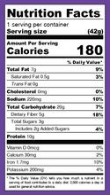 Iwon Organics Protein Stix Plant-Based 8 x 42g - Korean BBQ - Nutrition Facts | 854646006953