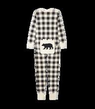Little Blue House by Hatley Adult Union Suit - Cream Plaid | 671374326807