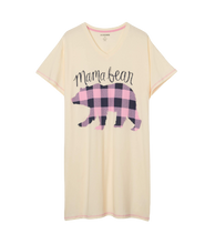 Little Blue House by Hatley Women's Sleepshirt One Size - Mama Bear | 671374409883