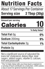 G Hughes Sugar Free BBQ Sauce 510g - Hickory Nutrition Facts | 026825000117