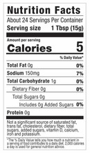 G Hughes Sugar Free Steak Sauce 367g - Nutrition Facts | 836153090088
