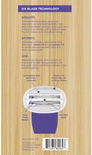 Own Beauty Razor Cartridges Six Blade Technology - 4 Cartridges |  815281800627