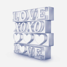 Zoku Love Ice Mold|851877022030