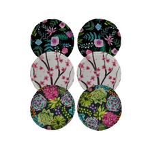 Thirsties Organic Cotton Breast Pads 3-Pair Bundle - Floral 840015716707
