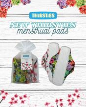 Thirsties Organic Cotton Menstrual Pad 2-Pack Bundle|840015716844