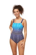 Amoena Bohemian Chic Half-Bodice Swimsuit - water blue Back | 4026275425788 | 4026275425795 | 4026275426556 | 4026275425801 | 4026275426563 | 4026275426570 | 4026275427423 | 4026275427430