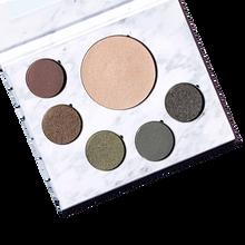 Fitglow Beauty Green Beauty Glam Palette - Open | 859976001432