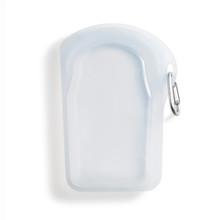 Stasher Go Reusable Clip-On Bag - Clear  | 810055312177