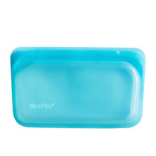 Stasher Reusable Snack Bag  294mL - Aqua | 816990012783