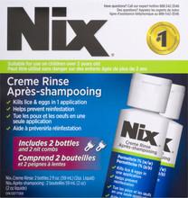 Nix Crème Rinse - 2 x 59mL | 624558021586