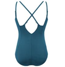 Amoena Futuna One Piece Swimsuit with Criss Cross Back - back | 71416 | 4026275410029, 4026275410036, 4026275410081, 4026275410098, 4026275410104