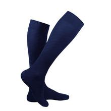 Truform Travel Series Travel Compression Socks 15-20 mmHg 1 Pair - Navy