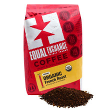 Equal Exchange Coffee Organic French Roast Intensely Dark & Full Bodied 284g - Ground | 745998990833