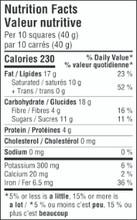 Camino Organic Bittersweet 71% Cacao Dark Chocolate 12 x 100g - Nutrition Facts | 752612100172