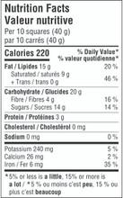 Camino Organic Raspberries 65% Cacao Dark Chocolate 12 x 100g - Nutrition Facts   752612100363