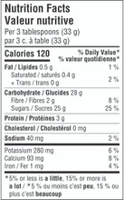 Camino Organic Original Milk Hot Chocolate 336g - Nutrition Facts   752612000045