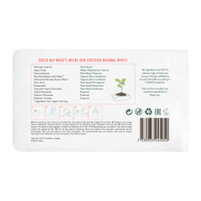 Eco by Naty Unscented Wipes 3 x 56 wipes - Rear | 7330933245050