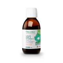 Organika Liquid Zinc & Vitamin C Orange Flavour 300mL - Rear   620365031152