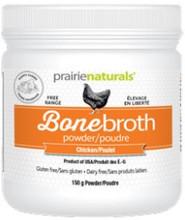 Prairie Naturals Bone Broth Powder 150g - Chicken |