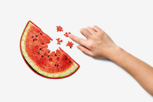 Areaware Little Puzzle Thing  - Watermelon |