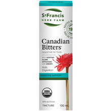 St. Francis Herb Farm Canadian Bitters - Digestive Support Tincture 100ml|813858008582
