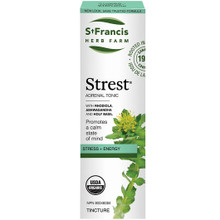 St. Francis Herb Farm Strest Adernal Tonic - Stress Relief 50ml|813858009855