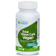 Platinum Naturals Total Vision Care Vegan 60caps|773726033408