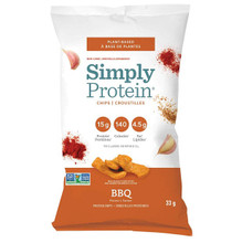 SimplyProtein Chips - BBQ 6x30g   686207802083