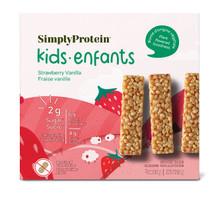 SimplyProtein Kids Bar - Strawberry Vanilla 5x25g   686207401064