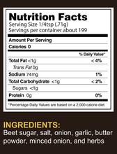 Sinister Labs SinFit Seasonings Butter Herb 5oz|860005922628