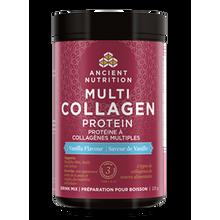 Ancient Nutrition Multi Collagen Protein vanilla|816401024367