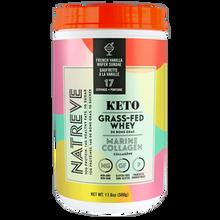 Natreve Keto Grass - Fed Whey Marine Collagen - French Vanilla Wafer Sundae 500g | 628831000299