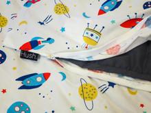HUSH Kids Weighted Blanket   Spaceship   HSH-5KIDS-SPACESHIP