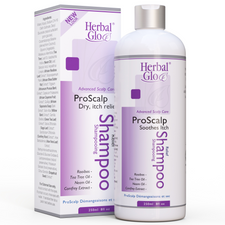 Herbal Glo Advanced Scalp Care ProScalp Soothes Itch Relief Shampoo 250mL | 763151331019