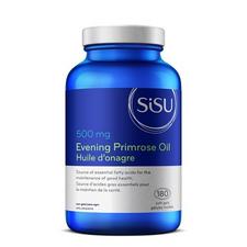 Sisu Evening Primrose Oil 500mg 180 Softgels | 777672015242