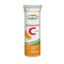 Jamieson Effervescent Vitamin C 1000mg 10 Tablets | 64642967350