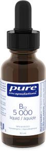 Pure Encapsulations B12 5000 Liquid | SKU : PUR-5000-001 | 766298114965