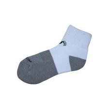 Incrediwear Above Ankle Quarter Sports Socks White 1 Pair |