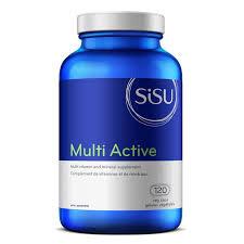 Sisu Multi Active 120 Veg Capsules   777672012524