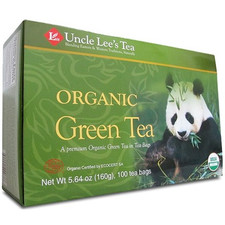 Uncle Lee's Tea Organic Legends of China Green Tea  