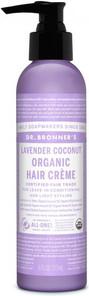 Dr. Bronner's Lavender Coconut Organic Hair Creme 177ml   018787980019