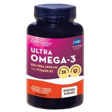 Sea-Licious Ultra Omega-3 + Vitamin D3 60 Softgels | 884288860767