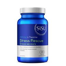Sisu Stress Rescue 250mg L-Theanine 60 Veg Caps | 777672000000