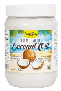 VegiDay Organic Virgin Coconut Oil 800 ml | 628235330336