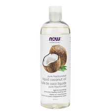 Now Solutions Pure Fractionated Liquid Coconut Oil 473ml   733739877031