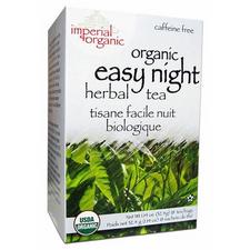Uncle Lee's Tea Imperial Organic Easy Night Herbal Tea 18 Tea Bags | 879792000068