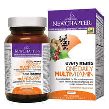 New Chapter Every Man's One Daily Multivitamin | 727783003287, 727783003270, 727783003263, 727783100108